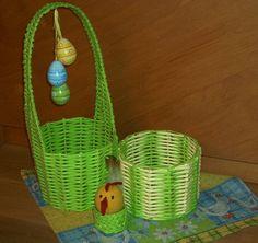 Velikonoční papírové pletení - fotoalba uživatelů - Dáma.cz Art N Craft, Baskets, Crafts, Upcycling, Pictures, Manualidades, Hampers, Basket, Handmade Crafts