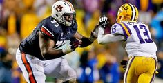 2014 NFL Draft: Auburn OT Greg Robinson entering NFL as the fourth overall stand-out player in the combine.