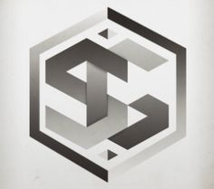 SG Logo designed by Mike Stinson. the global community for designers and creative professionals. Sg Logo, Logo Word, G Logo Design, Branding Design, Graphic Design, Web Design, Personal Logo, Business Logo, Business Cards