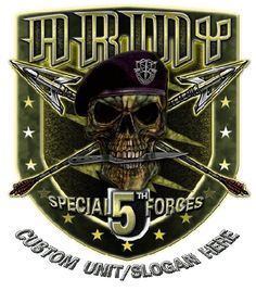 5th Special Forces Group Shirt $17.76