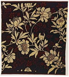 Block-printed velveteen, Day Lewis Foreman, ca. 1888 (made)