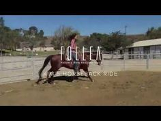 Our Follea Friend and California native, Kim, wears her Follea while riding her horse. Nothing can stop her from living life to the max! Not even alopecia. See the Aéro wig in action. http://www.follea.com/articles/blog/131-horseback-riding-test-