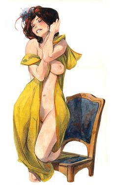 Эротика арт | Erotic art | © Yannick Corboz