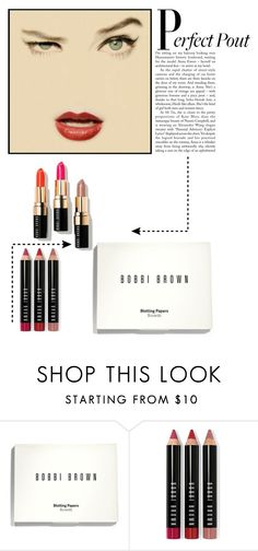 """""""Let's Lip Lock !!"""" by kateo ❤ liked on Polyvore featuring beauty, Bobbi Brown Cosmetics, bobbiebrown, mattelipstick and 6948"""