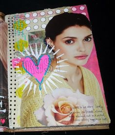 Kelly Kilmer Artist and Instructor: 5 July 2014 Journal Page