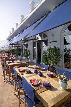 Dining at Maison La Minervetta - Sorrento, Italy