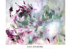 LISA SOLBERG  bedroom art - saucy