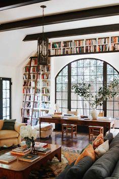 Dream Home Design, My Dream Home, House Design, Dream House Interior, Home Living Room, Living Spaces, Eclectic Living Room, Deco Studio, Tudor House