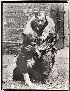 #Balto .Celebrated sled dog Balto with Gunnar Kaasen. (Photo: Brown Brothers.) Norwegian immigrant Gunnar Kaasen was the musher on the dog team that successfully delivered diphtheria antitoxin to Nome, Alaska in 1925. Lead dog for that final leg of the 600-mile trip was the indomitable Balto.