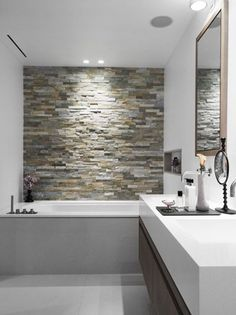 rivestimento pietra bagno 16