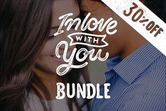 Lettering Love Quotes Bundle 30% OFF by Davihero on @creativemarket