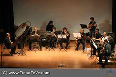 Big-Band de la Escuela Municipal de Música Luigi Boccherini de Arenas de San Pedro en el VII Festival Luigi Boccherini de Mayo de 2014.