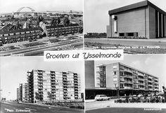 Rotterdam, Netherlands, The Past, Multi Story Building, Photo Wall, City, Frame, Van, School