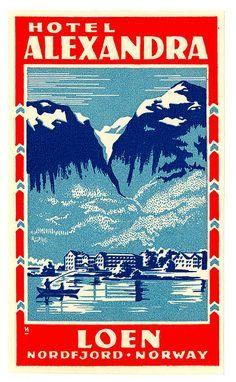 Hotel Alexandra _______________________________ Loen ~ Norway