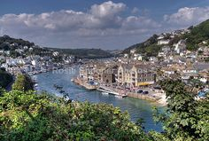 Looe in  Cornwall, South West England, UK