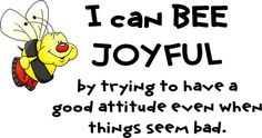 I Can BEE Joyful by Enokson, via Flickr