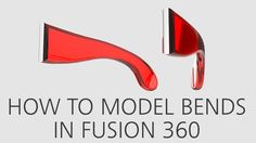 How to model bends in Fusion 360 Solidworks Tutorial, Cad Cam, Diy Cnc, Diy Cardboard, 3d Prints, Cnc Machine, Autocad, Zbrush, Three Dimensional