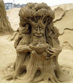 Sand art!