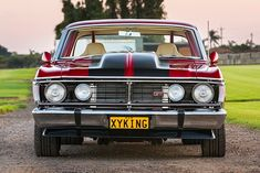 With on tap and a show-quality finish, Simon Mokdassi's 1970 Ford XY Falcon XYKING is the complete package Australian Muscle Cars, Aussie Muscle Cars, Big Girl Toys, Holden Commodore, Custom Muscle Cars, Nike Wallpaper, Ford Falcon, Drag Cars, Ford Gt