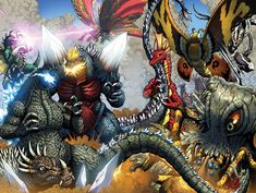 New Godzilla Artwork by Matt Frank - Godzilla 2014 Gallery