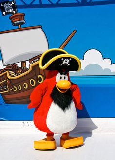 Club Penguin Rockhopper
