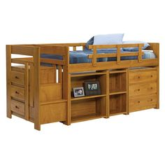 Temuco Captains Bed And Trundle With Drawers