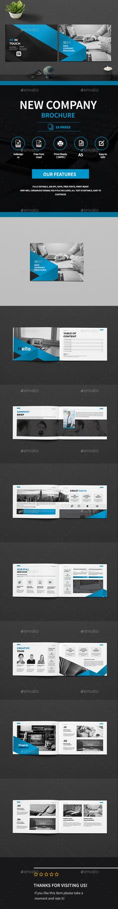 A5 Business Company Brochure - Corporate Brochures Download here : https://graphicriver.net/item/a5-business-company-brochure/19275574?s_rank=116&ref=Al-fatih