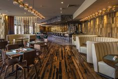 Shake it Cali! Eclectic Vibes with our handcarved 'Phoenix' panels at The Hard Rock Hotel Palm Springs. One of our signature projects. After a killing production schedule, a whopping 439 panels where flown in straight from our factory to be delivered on site one day before deadline.   wonderwall studios, reclaimed wood, wallpanelling, cladding, wooden wallpanels, interior design, upcycling, wooddecoration