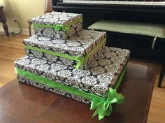Build Your Own Cupcake Stand | After the boxes were put together ...