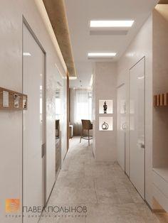 Фото: Коридор - Интерьер квартиры в современном стиле, ЖК «Московский квартал», 130 кв.м.