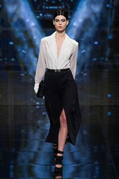Donna Karan black and white