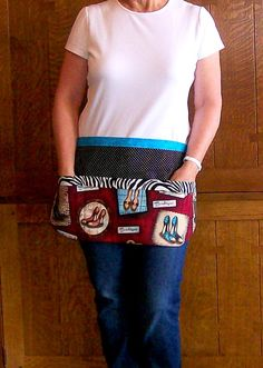 #shoes Shoe Boutique Utility Vendor Tool Belt by SusiesTieOneOnAprons