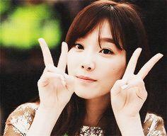Taeyeon SNSD Girls' Generation Sweet Beauty GIF, gif, taeyeon, ya,happy