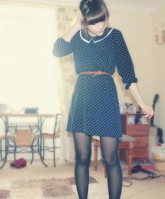 Since you said goodbye, polka dots filled my eyes.