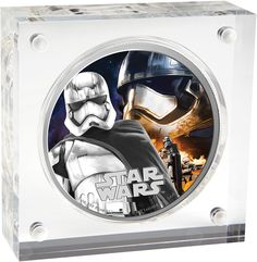 New Zealand Mint unleashes the next Star Wars:The Force Awakens Silver collecible coin showcasing Captain PhasmaTM imagery http://bit.ly/1MAiXUx