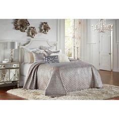 Glam Bedding, Silver Bedding, Bedroom Comforter Sets, Queen Comforter Sets, Romantic Bedding, Luxury Bedding, Silver Bedroom Decor, Glam Bedroom, Home Bedroom