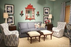 High Point Market Spring 2013 Highlights: Color Comfort and Style at CR Laine | photo by Nicole Gibbons of So Haute