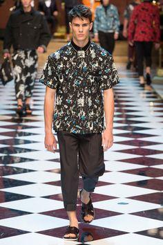 Dolce & Gabbana Spring 2017 Menswear Fashion Show - Federico F.