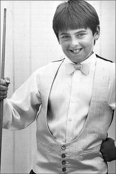 Young Ronnie O'Sullivan.