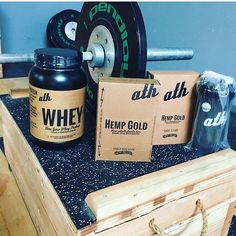 Reloaded with our #nongmo WHEY & #HempGold bars  @tonygbjj  #ultimatetrainingcenter #checkmathq  #athohana