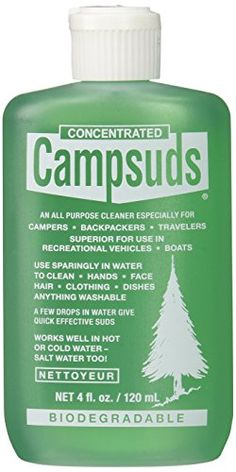 Sierra Dawn Campsuds All Purpose Cleaner, 4-Ounce - Check this out at... http://backpackingandcampingessentials.com/backpacking-gear/sierra-dawn-campsuds-all-purpose-cleaner-4-ounce/