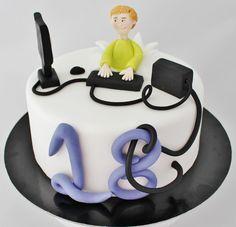 Znalezione obrazy dla zapytania tort dla informatyka