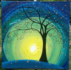 Michelle Pendergrass- visual prayer - Would be a beautiful wallhanging with tree made by the embroidery machine.