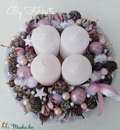 Ornament Wreath, Ornaments, Christmas, Pink, Diy, Creative, Xmas, Navidad, Christmas Decorations