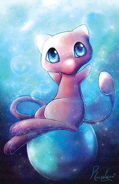 Mew Pokemon Card, Pokemon Eeveelutions, Pokemon Fan, Cute Pokemon Pictures, Pokemon Images, Cute Pictures, Cool Pokemon Wallpapers, Cute Pokemon Wallpaper, Mew And Mewtwo