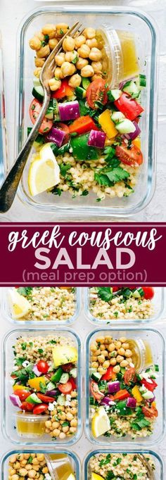 Trying to eat healthy, but don't know what to make this week for lunch or dinner? Plus you're just sick of chicken? Well, this collection of healthy meal prep recipes will solve all of your healthy eating problems! No chicken and you'll get all your healthy meals for the week made ahead in NO TIME. | pescatarian meal prep recipes | vegetarian meal prep recipes | #mealprep #ForVegetarians