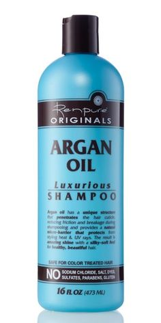 Argan Oil Luxurious Shampoo | Renpure Hair Care Fell in love with this stuff.  Get it cheap at Kroger.  Next best place is Walgreens.