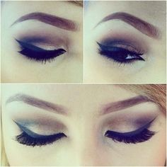 ashleyswagner:    Makeup of the day for my first day on the floor at #inglot  #motd #makeup #eyes #lashes #eyeliner #inglotcosmetics #mua #makeupartist #eyebrows #browneyes #ashleyswagner #instalove #love #tumblr (Taken with Instagram)