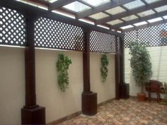 Pergola Patio Pergola Patio Terrasse Patio an Haus angeschlossen Patio bedeckt diy modern screen wall Diy Pergola, Outdoor Pergola, Pergola Shade, Diy Patio, Pergola Kits, Gazebo, Small Pergola, Pergola Ideas, Patio Ideas