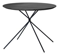 FRISBEE coffee table small (black)